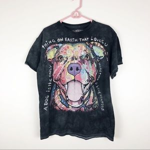 Dean Russo Pitbull Dog Lovers Graphic T-Shirt